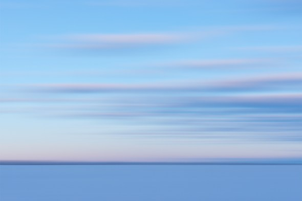 A fine art abstract landscape photograph