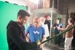 Production Stills of AN.X.O - Filming Day 6 on February 1st, 2015