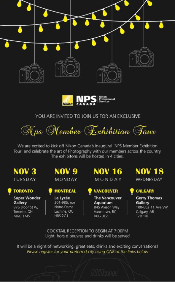 Nikon NPS invite