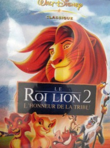 le roi lion 2 - disney - dvd