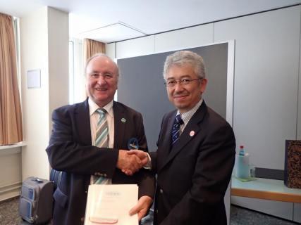 速報:JCSFがICSFに正式登録&佐々木アキさんがICSF理事に就任します