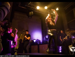 Against The Current + Stereo Lights @ Le Saint des Seins – 11/02/2016