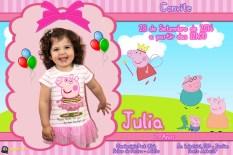 Convite Julia 2 Anos