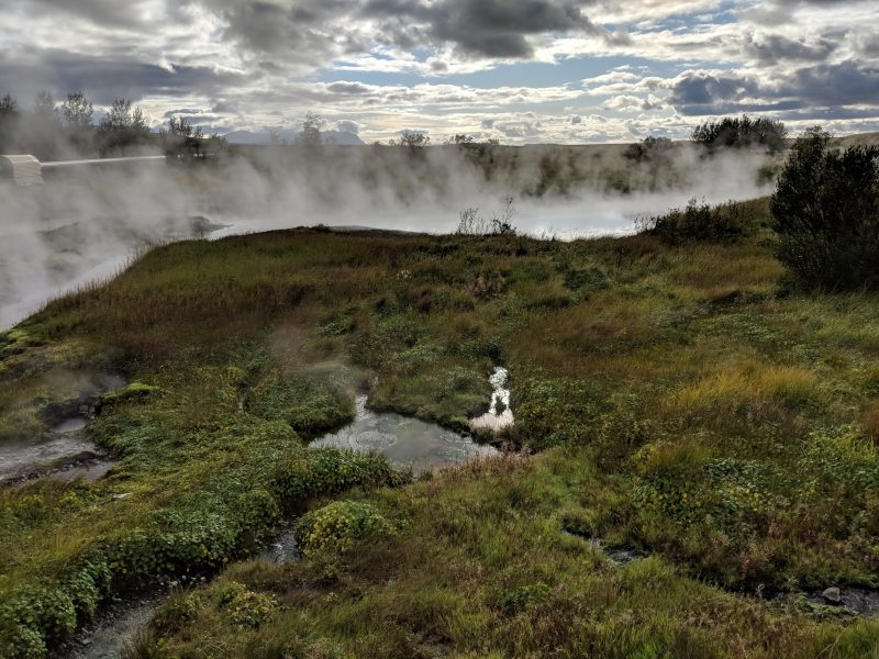 Iceland hot pool