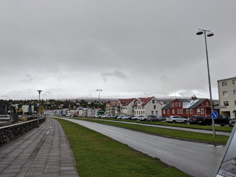 Akureyri and the North: winter is coming