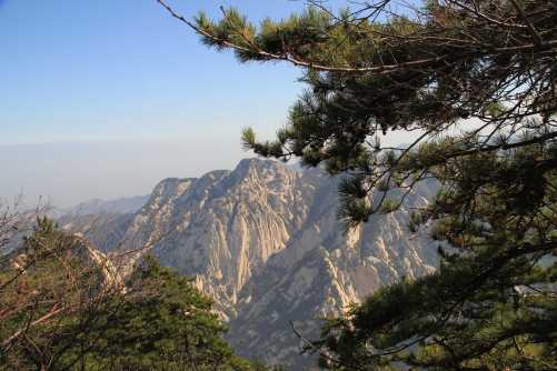 Mountain Hua Shan near Xian