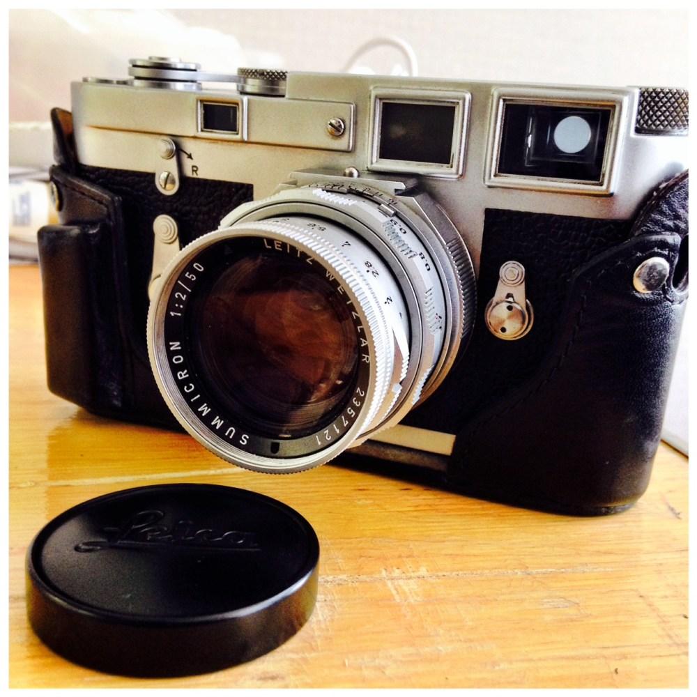 Camera Porn: Leica M3 with LEICA 50mm f/2 SUMMICRON Dual Range (1/2)