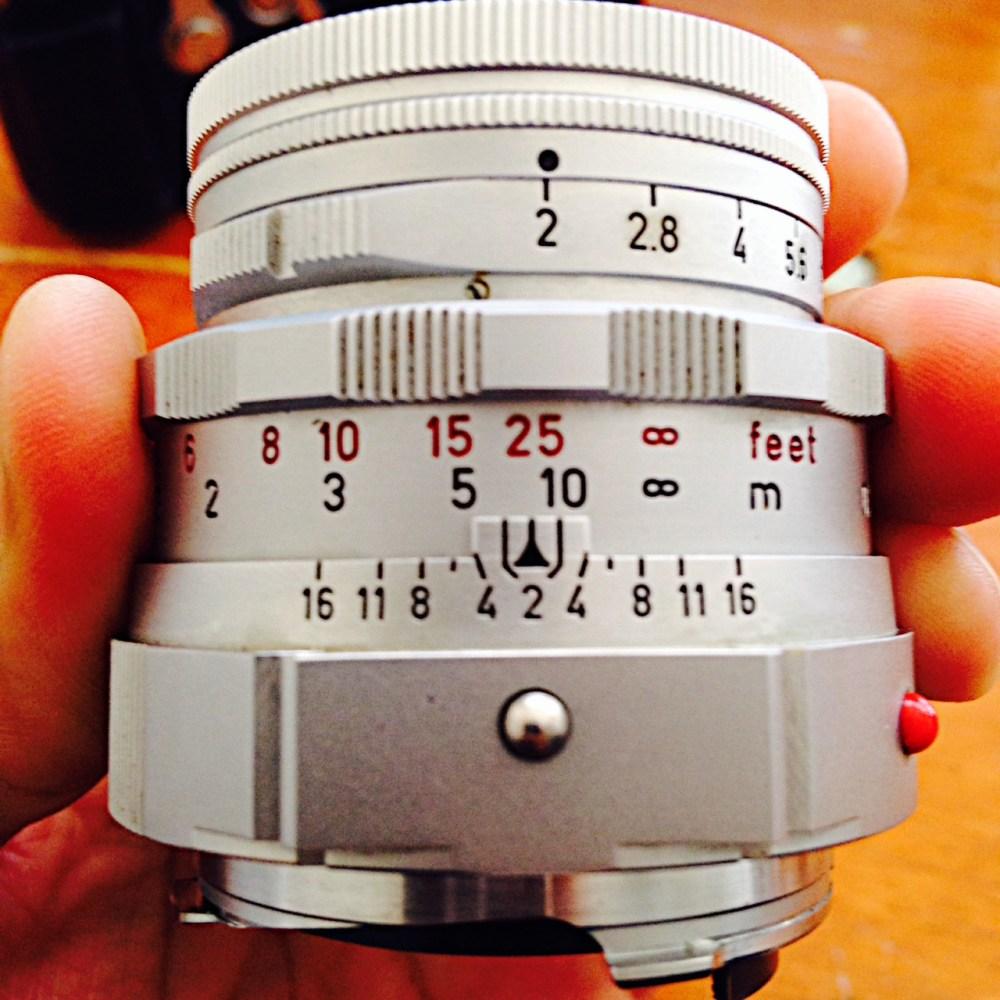 Camera Porn: Leica M3 with LEICA 50mm f/2 SUMMICRON Dual Range (2/2)
