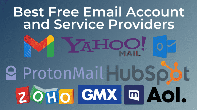 10 Best Free Email Account and Service Providers in 2021
