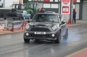 JCW MINI Burnout