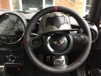 JCW Steering Wheel Retrim