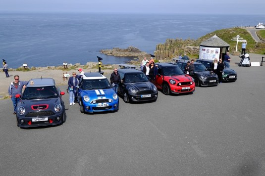 Roadtrip MINI Club Cornwall