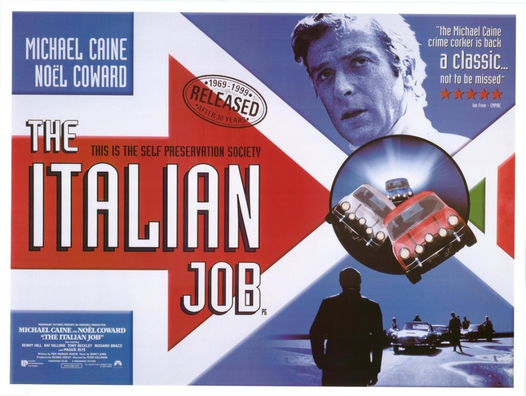 italian job movie poster