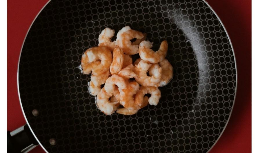 Riz pilaf aux crevettes