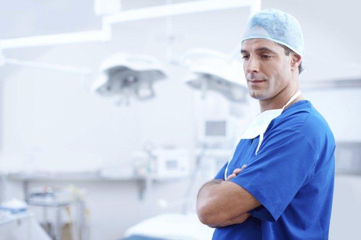 Doctor in surgeon uniform