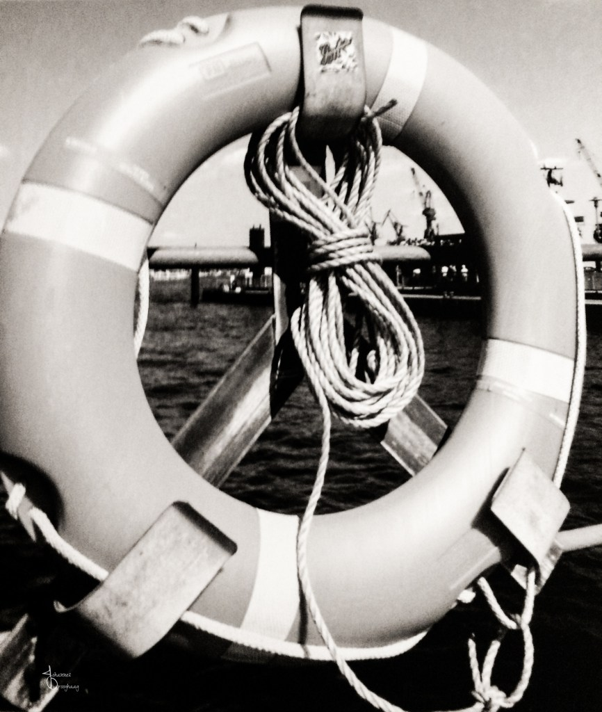 Faces of Hamburg – the life buoy