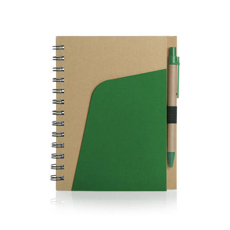 Eco Notebook with Pen