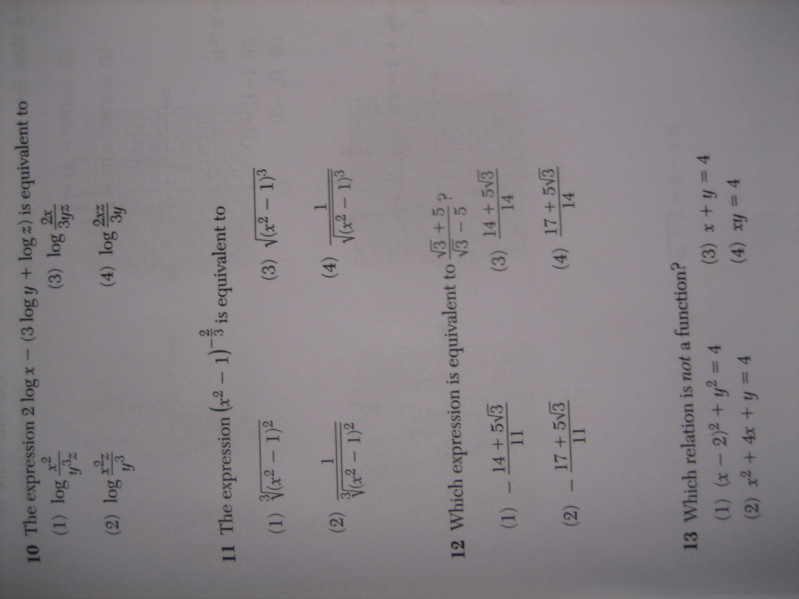 Algebra 2 Algebra 2 Trigonometry Regents Exam Answers