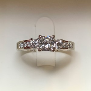 Jean Tridamond Engagement Ring