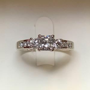 Jean Tridamond Engagement Ring