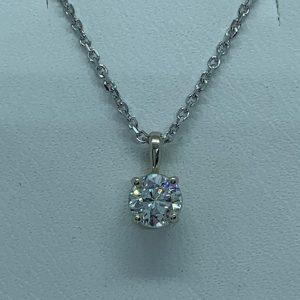 Pendant - Diamond solitaire pendant