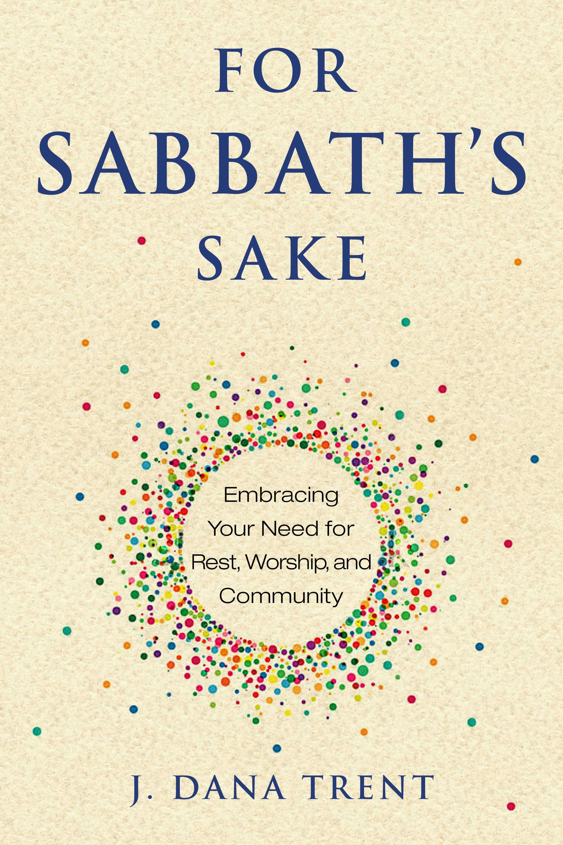 Book Cover Debut: For Sabbath's Sake