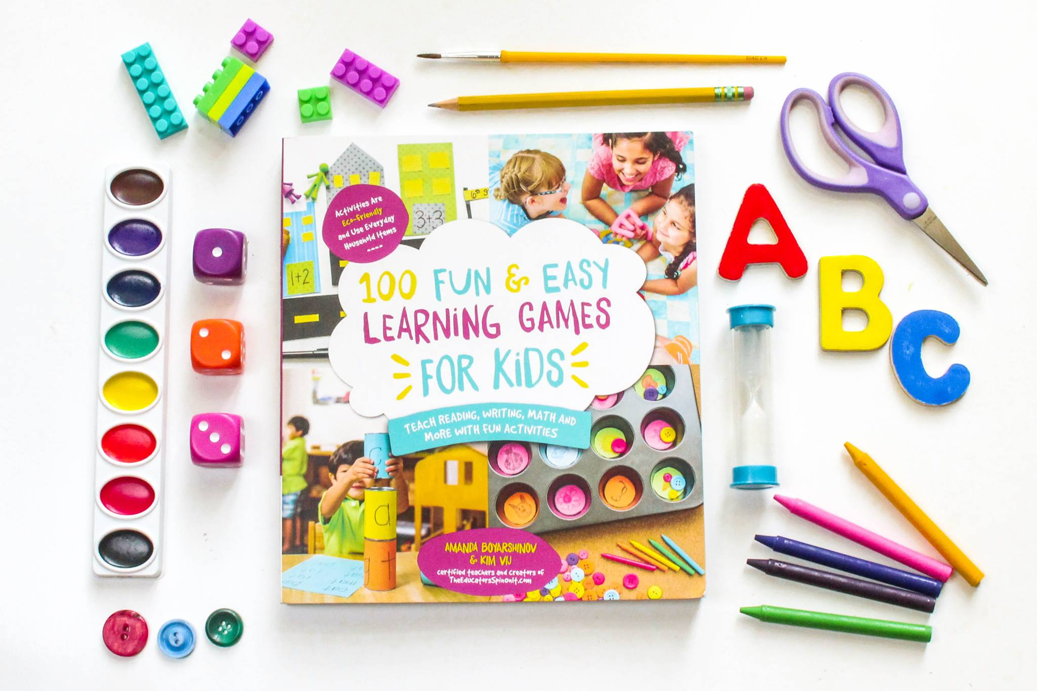 100 Fun And Easy Learning Games For Kids