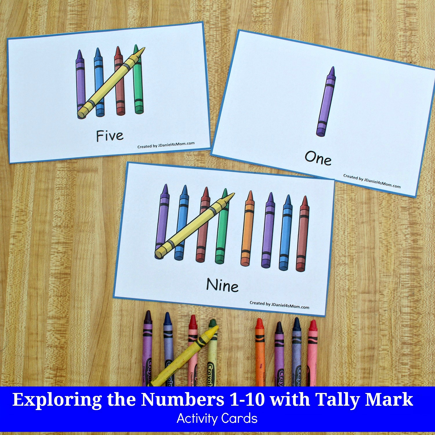 Exploring The Numbers 1 10 With Tally Mark Activity Cards