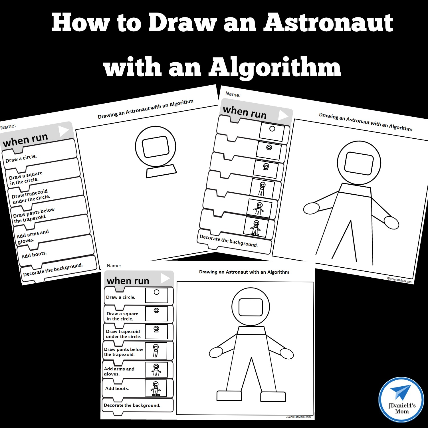 How To Draw An Astronaut With An Algorithm