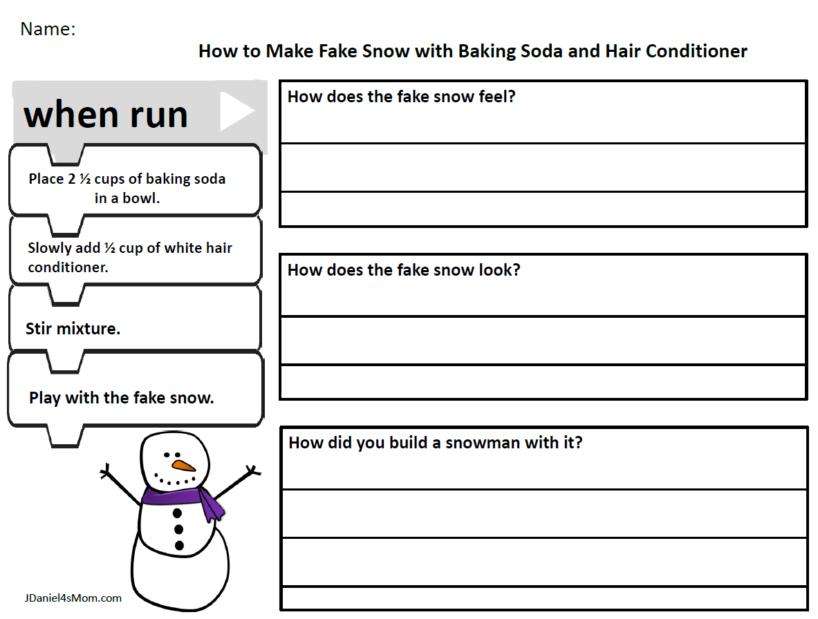 Fake School Worksheet