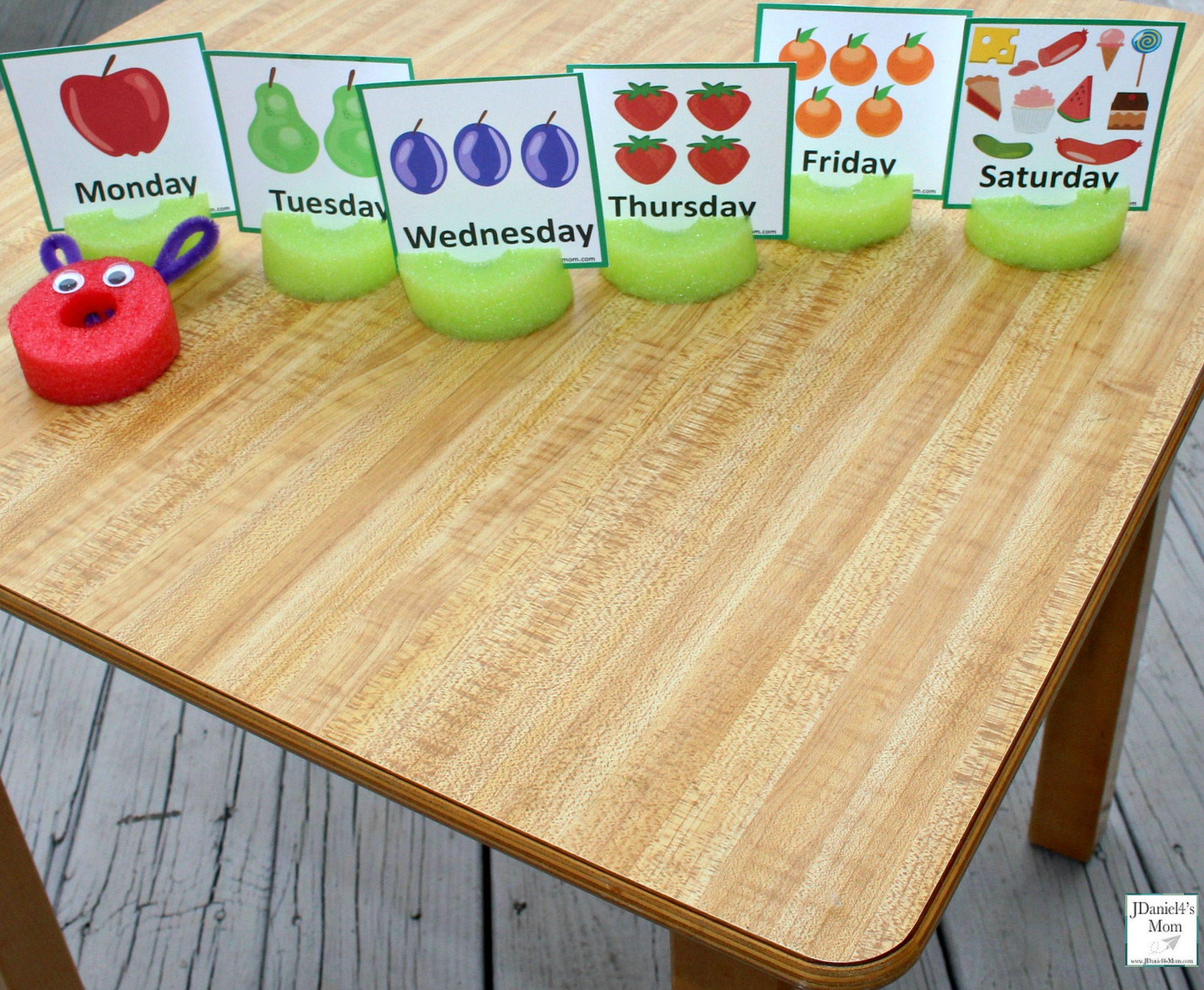 The Very Hungry Caterpillar Number Sequencing Activities