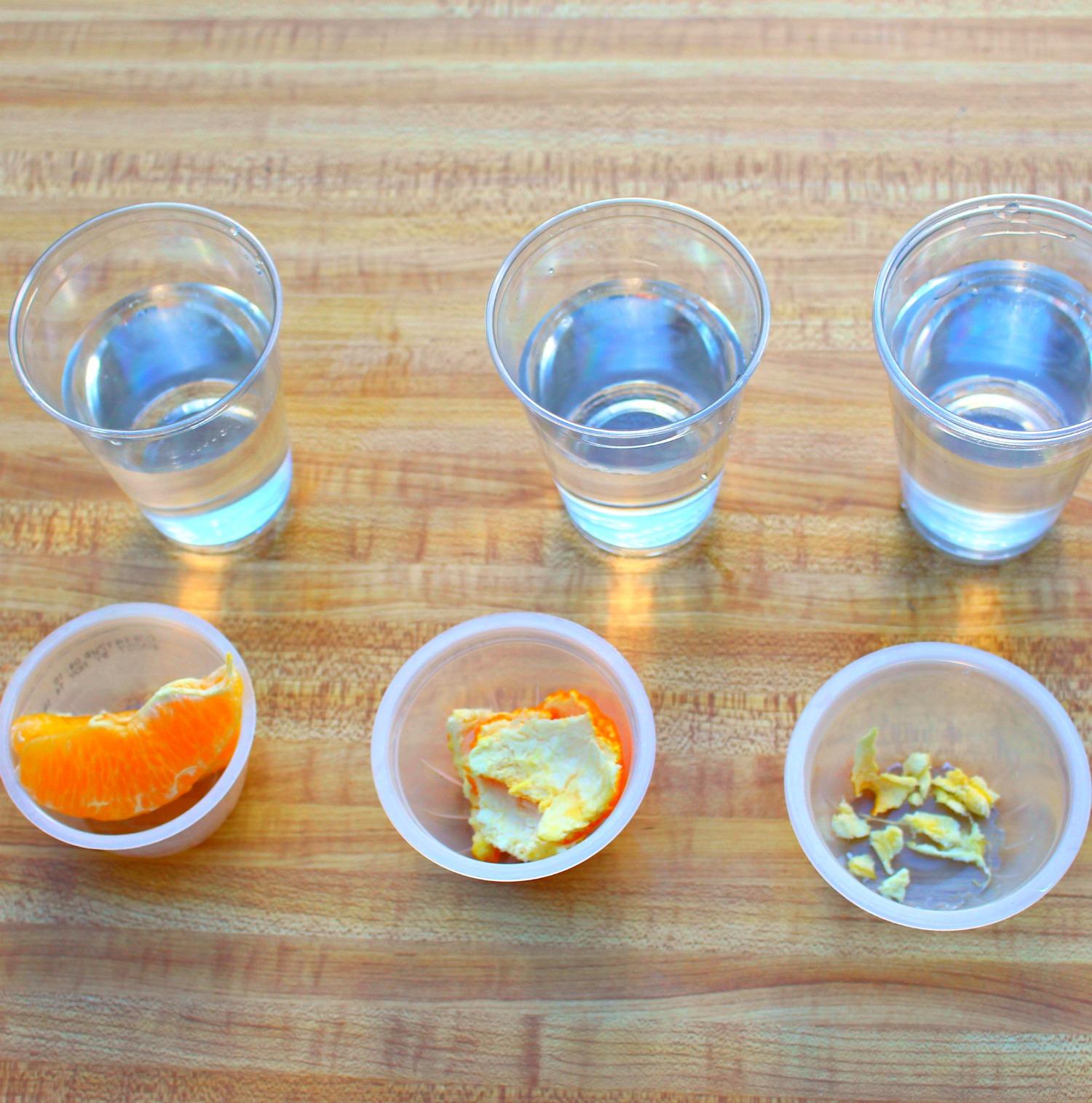 Exploring The Density Of Orange Parts Using The Scientific