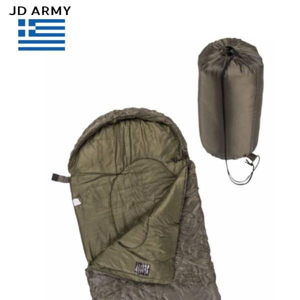 jdarmy upnosakos Mil Tec Comforter Sleeping Bag Olive +5°C +25°C