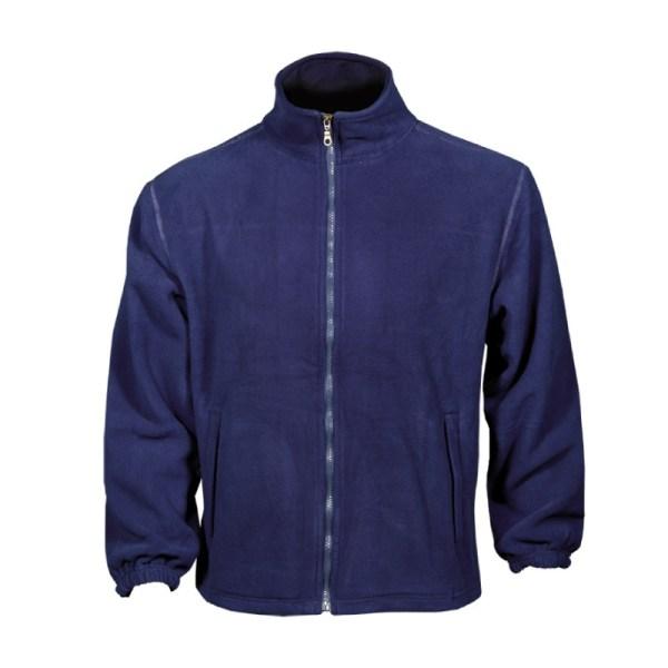 jdarmy zaketa fleece navy bleu
