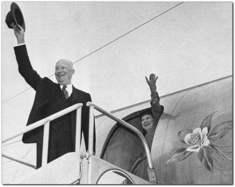 president-dwight-eisenhower-mamie-eisenhower-waving-boardi