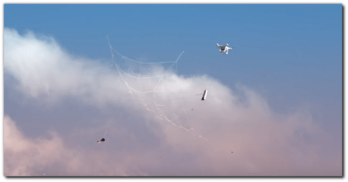 Drone Catching: An Inevitable Sport in Our Swarming Skies?