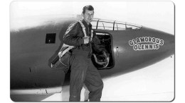 chuck yeager breaks sound barrier