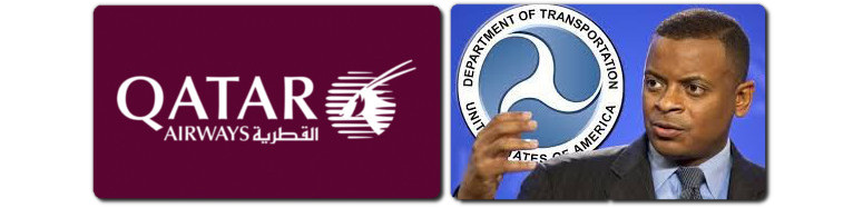 qatar fined by dot