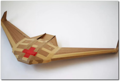 darpa paper airplane drone