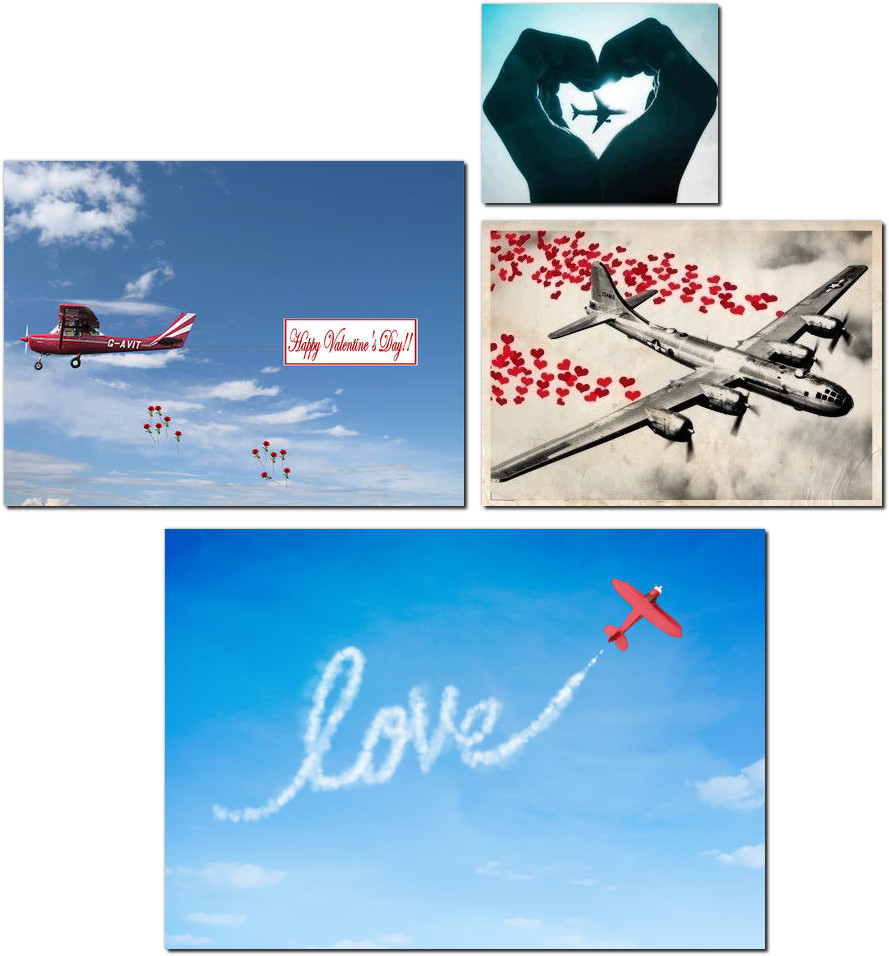 aviation valentines day