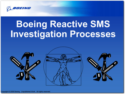 boeing reactive sms