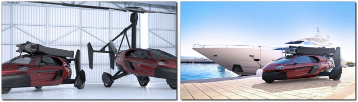FIRST COMMERCIALLY FEASIBLE FLYING CAR
