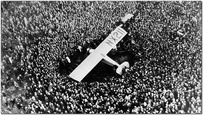 Le Bourget 1927 first nonstop Trans-Atlantic passenger flight