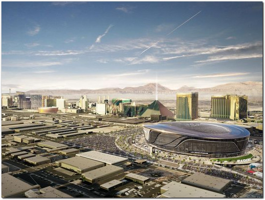 Raiders Stadium Part 77 Determination faa