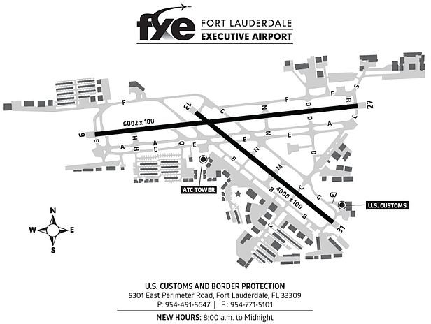 fxe fort lauderdale executive airport
