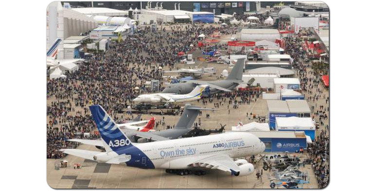 airbus paris air show