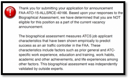 faa air traffic controller specialist atcs application