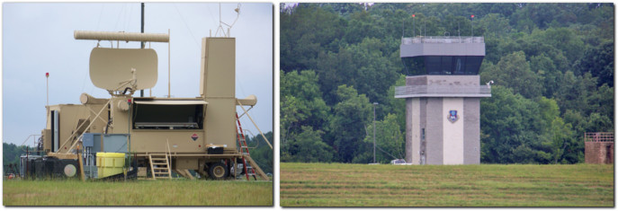 stanly county airport ang radar atc tower