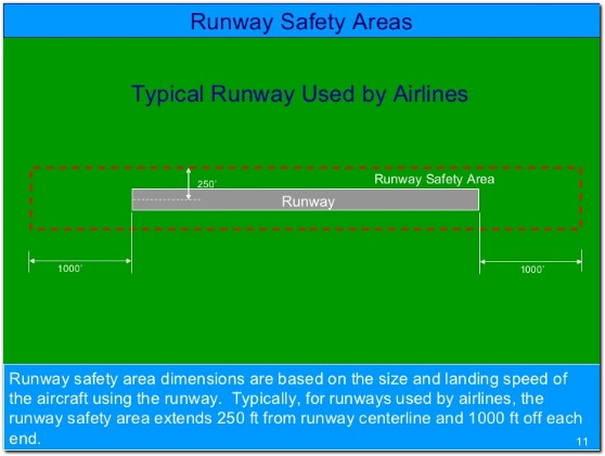 runway safety areas airlines