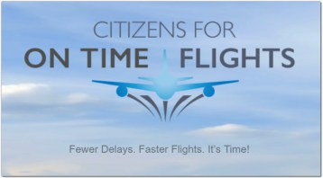 Citizens for On Time Flights atc privatization